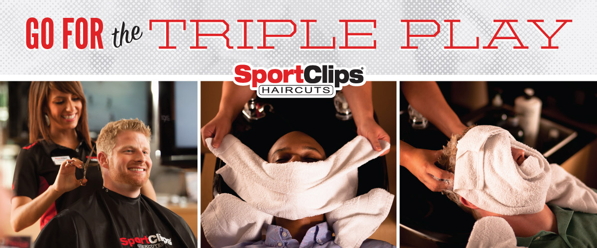 The Sport Clips Haircuts of Spokane South Hill Triple Play